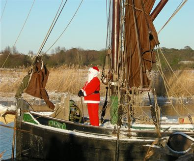 Top Places to see Santa on The Suffolk Coast
