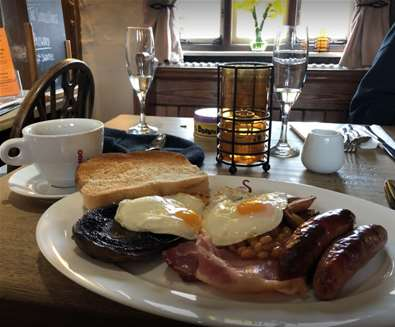 Sorrel Horse Sunday Breakfasts