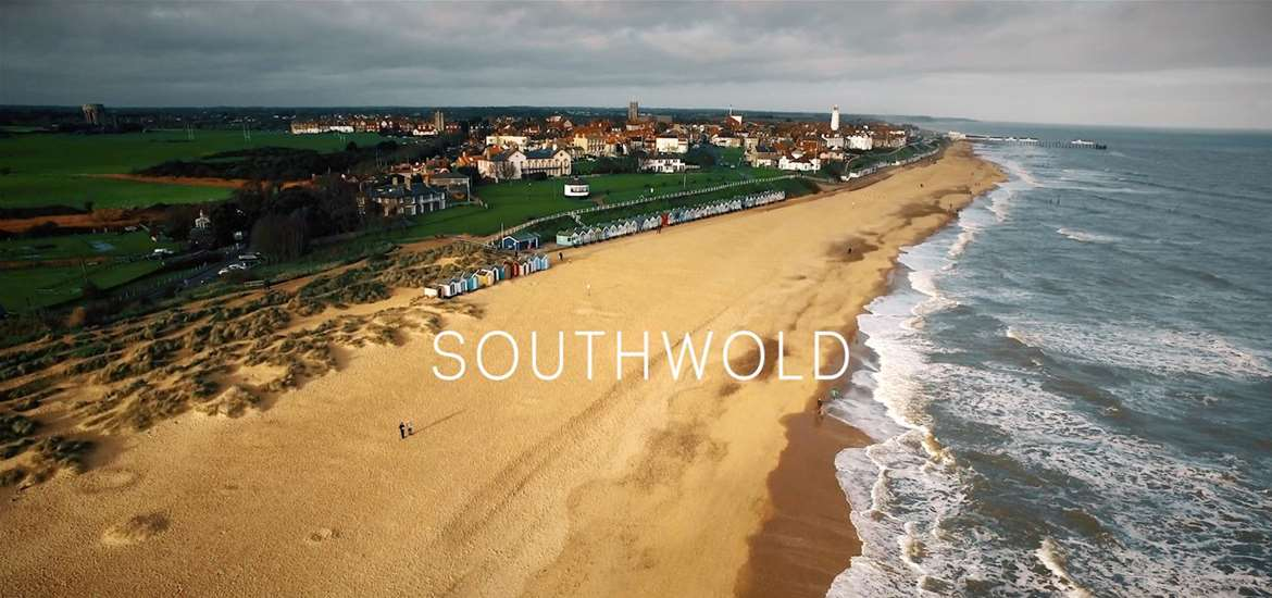 Southwold Aerial View