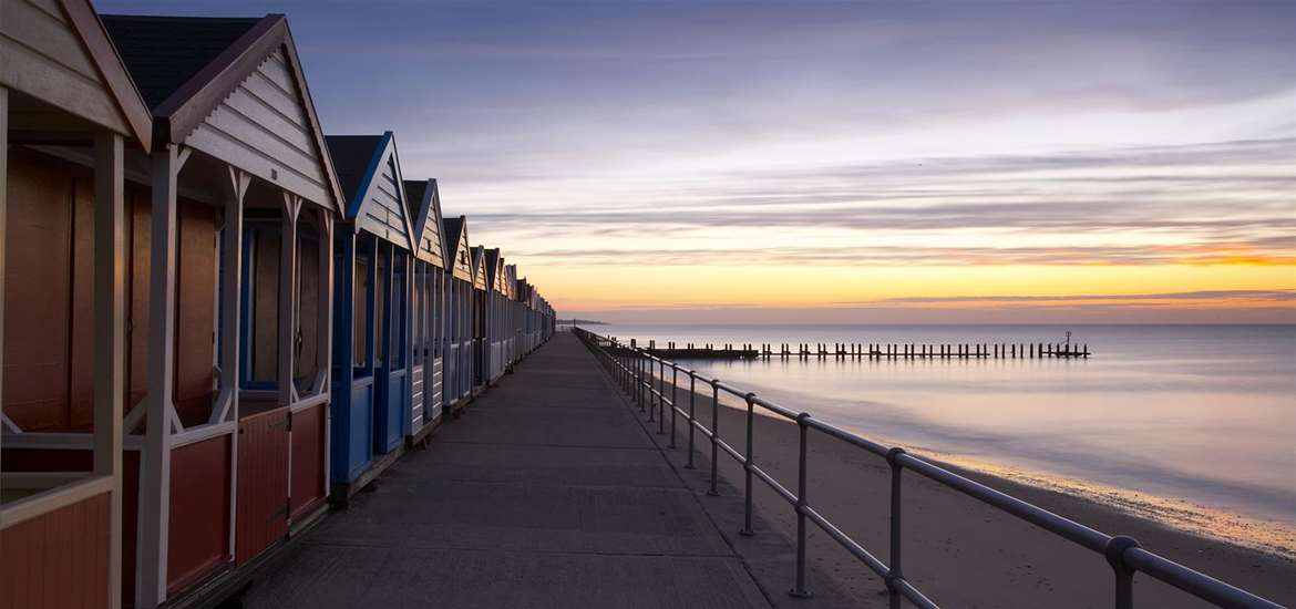 Towns & VIllages - Southwold beach huts - (c) Rebecca Greenfield