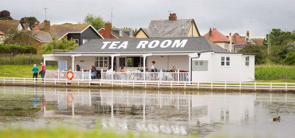 FD - Southwold Boating Lake - Tea room
