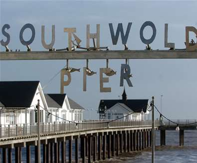 TTDA - Southwold Pier - Sign