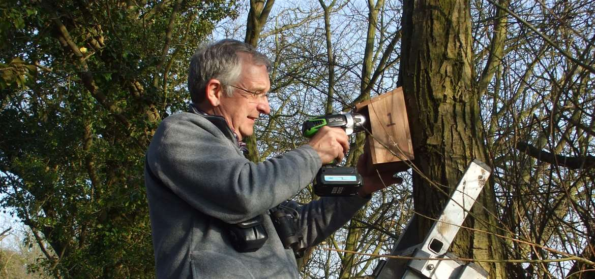 Southwold Railyway Trust Birdbox at Wenhaston