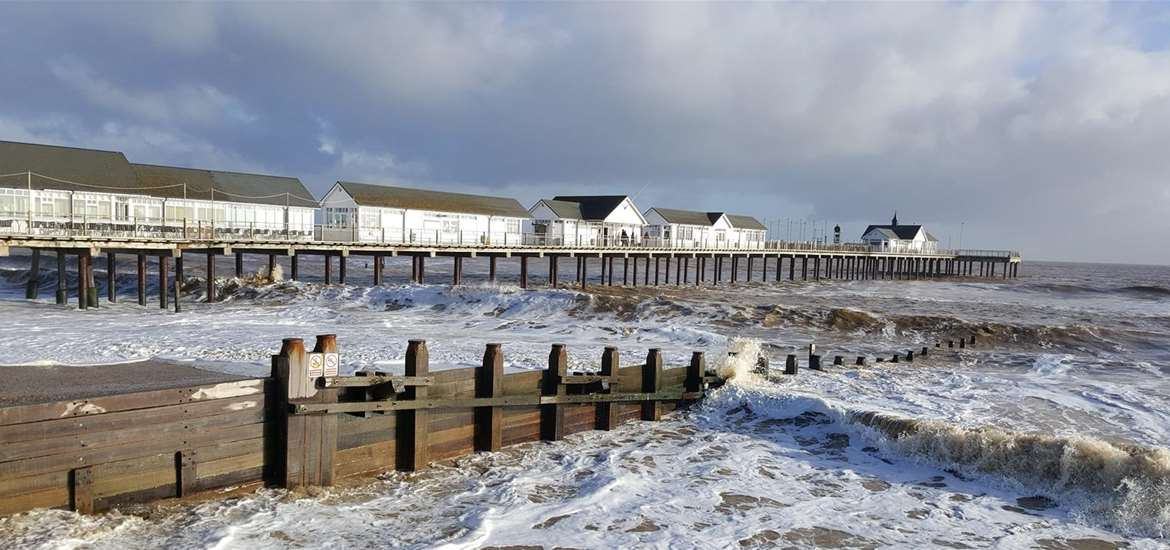 Southwold Pier on the Suffolk Coast