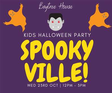 Spookyville Halloween Party at Baytree House Lowestoft