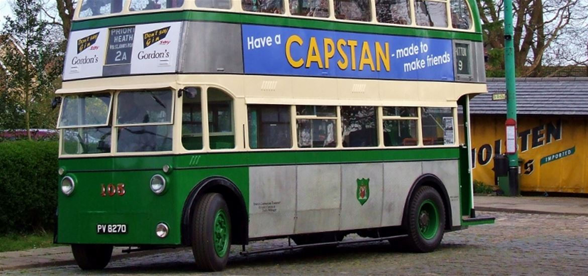 Suffolk Museums - Attractions - Ipswich Trolley Bus