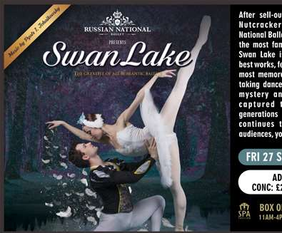 Swan Lake at The..