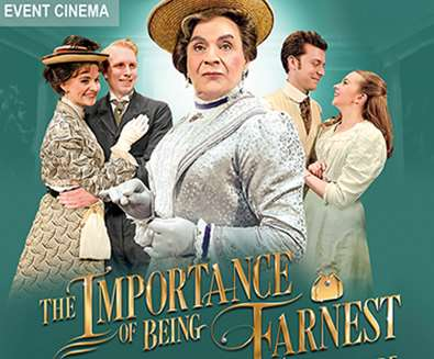 EVENT CINEMA: The Importance of Being Earnest by Oscar Wilde