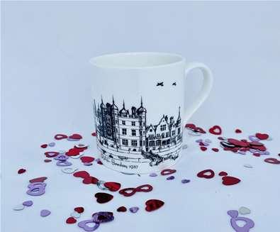 TTDA - Bawdsey Radar - Valentines mug