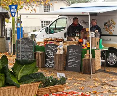 TTDA - East Suffolk Markets - Cheese Seller