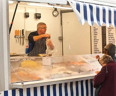 TTDA - East Suffolk Markets - Fish seller
