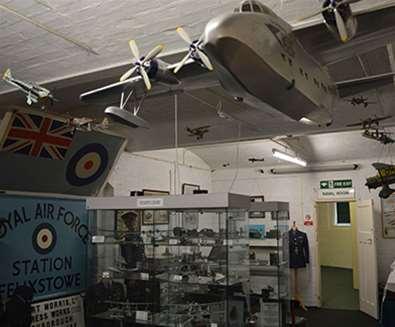 TTDA - Felixstowe Museum - Plane