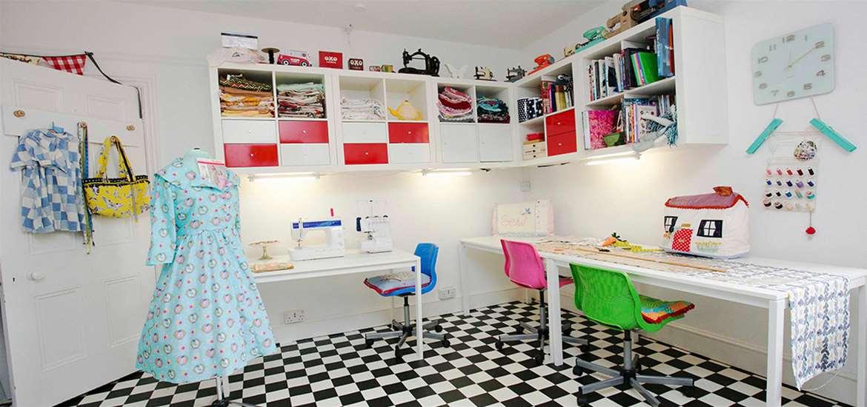 TTDA - Felixstowe Sewing School - Sewing Room