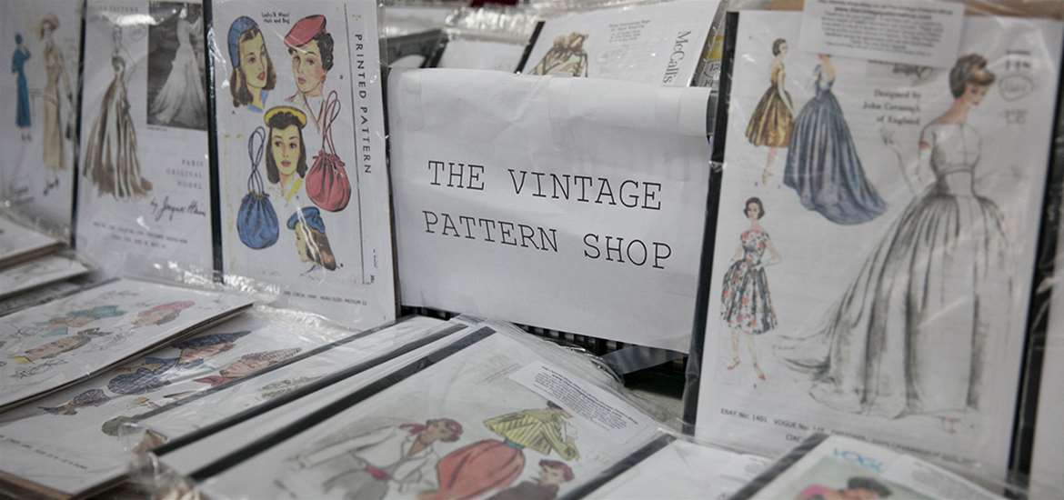 TTDA - Festival of Fabric - Vintage Patterns
