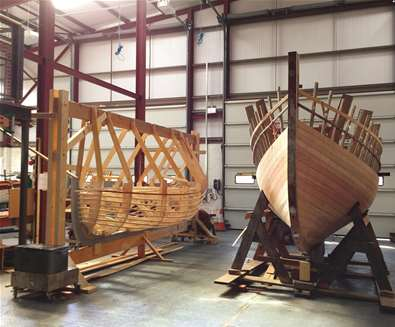 International Boatbuilding College on the Suffolk Coast