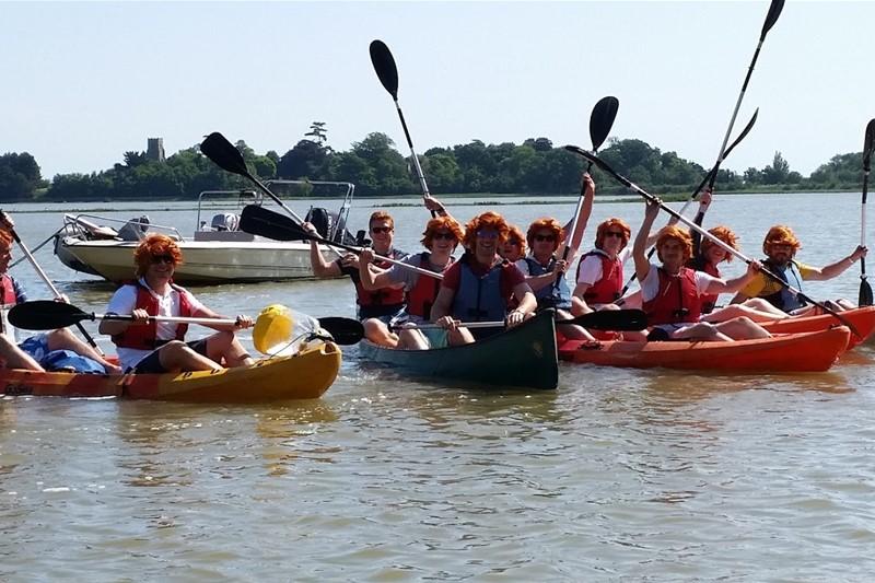 Iken Canoe - Snape - Suffolk Coast