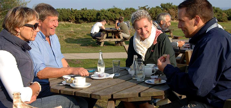 TTDA - National Trust Dunwich Heath - cafe