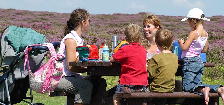 TTDA - National Trust Dunwich Heath - family picnic