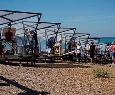 TTDA - Screen Suffolk  - Filming on beach