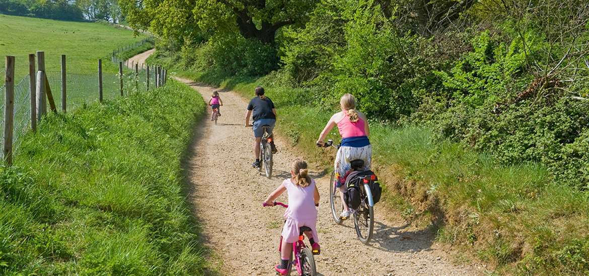 TTDA - Suffolk Coast & Heaths AONB - Family Cycling
