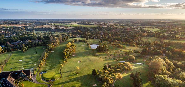 WTS - Ufford Park - aerial view