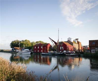 TTDA - Snape Maltings - View of Maltings