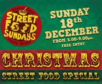 Christmas Street Food Sunday at The Table