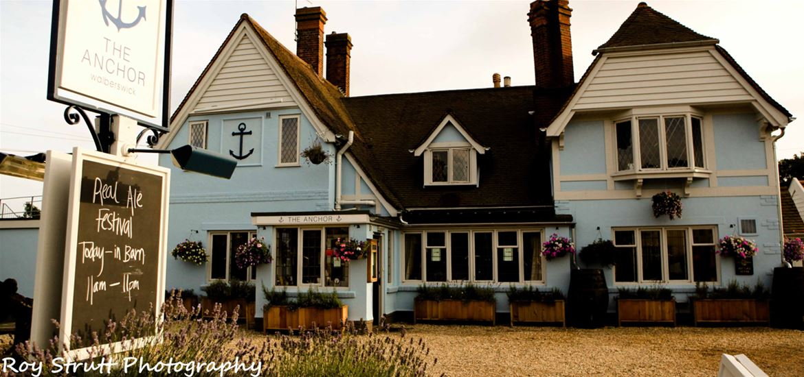 The Anchor Walberswick-Front View
