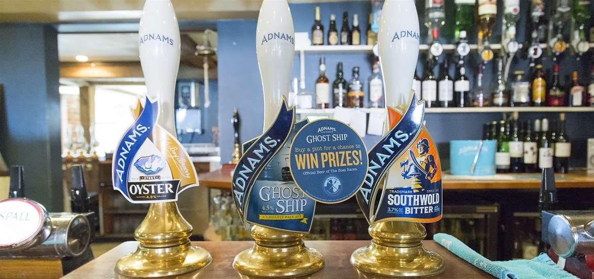 The Bell Inn Walberswick Adnams Beer