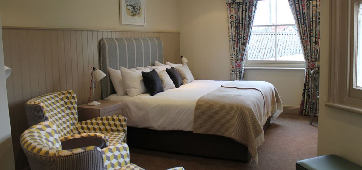 The Crown Southwold Double room