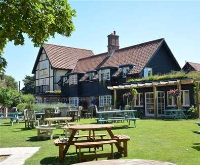 The Dolphin Inn Thorpeness on the Suffolk Coast