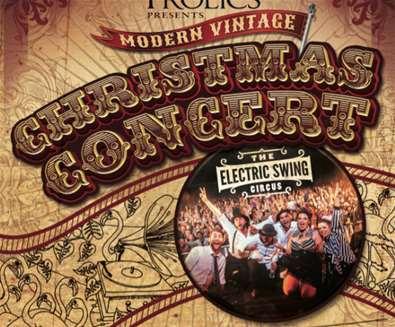 The Frolics Modern Vintage Christmas Concert