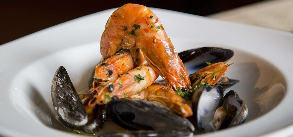 The Ship Inn Levington - Delicious seafood