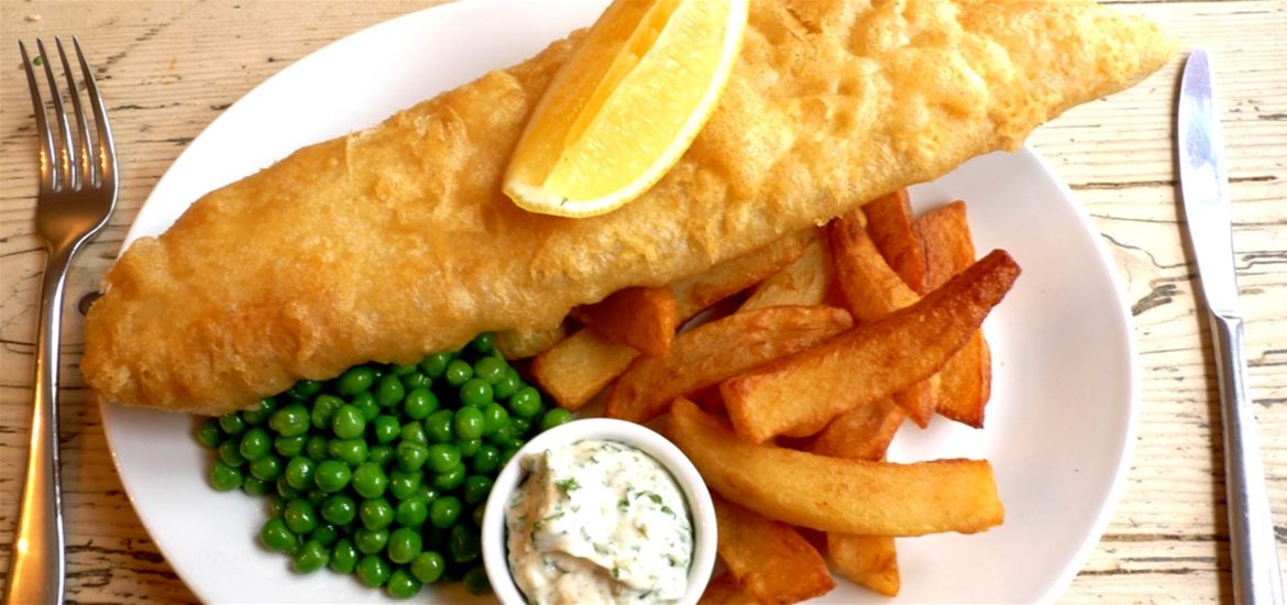 The Ship at Dunwich-food and drink-fish and chips
