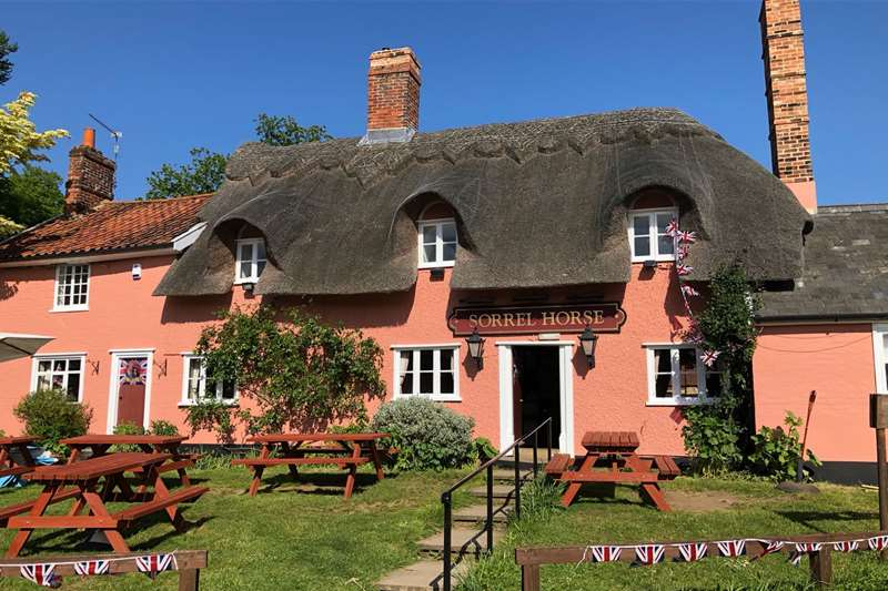 The Sorrel Horse Pub Shottisham Suffolk