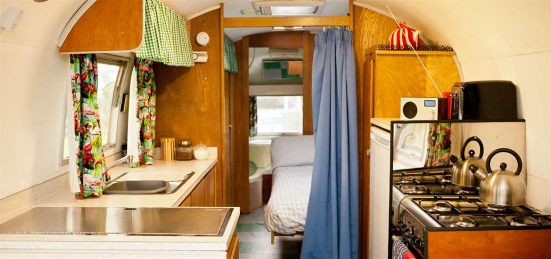 Happy Days Retro Vacations - beautiful Airstream interiors