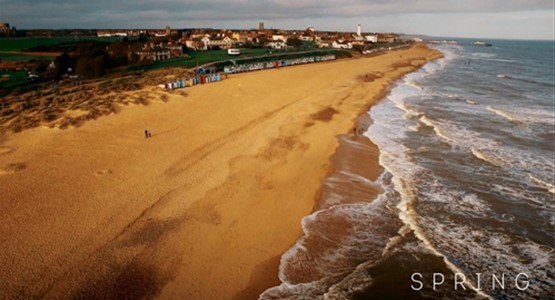 Spring on The Suffolk Coast -