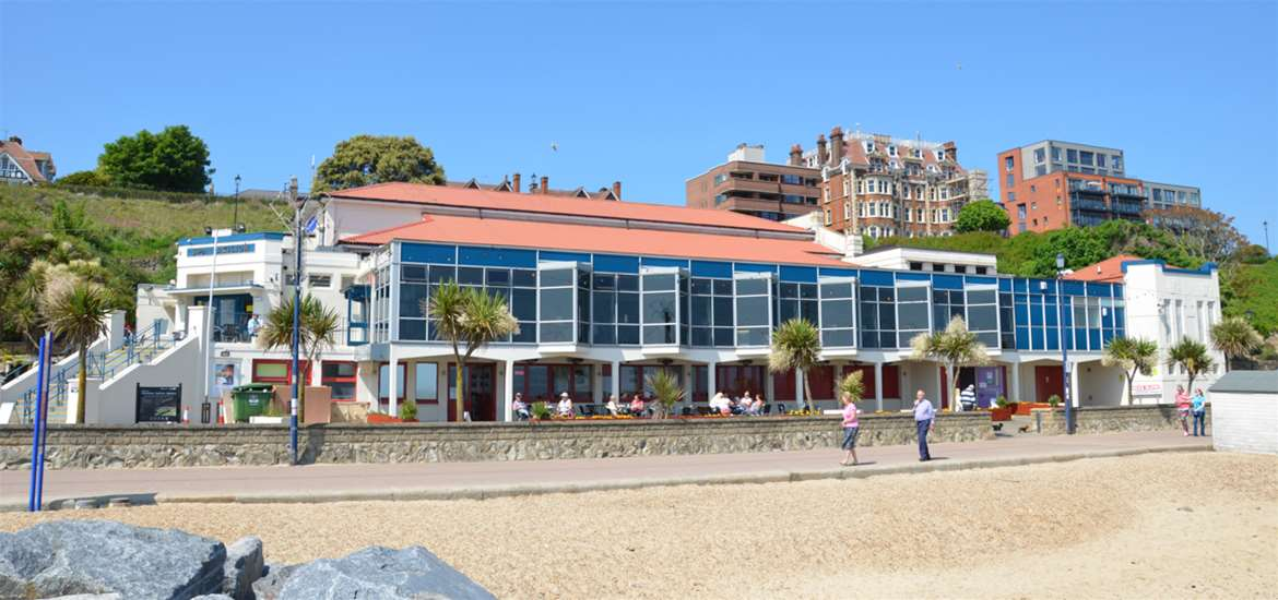 TTDA - Felixstowe Spa Pavilion - View from Beach
