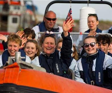 TTDA - Coastal Voyager - people on boat