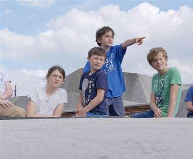 The Battle for Landguard Fort - Children at Fort