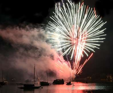 TTDE - Oulton Broad Gala Day - Fireworks