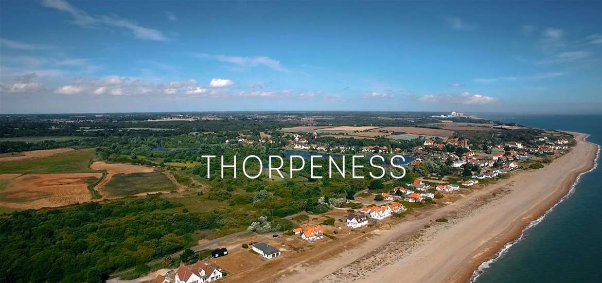 Thorpeness Aerial View