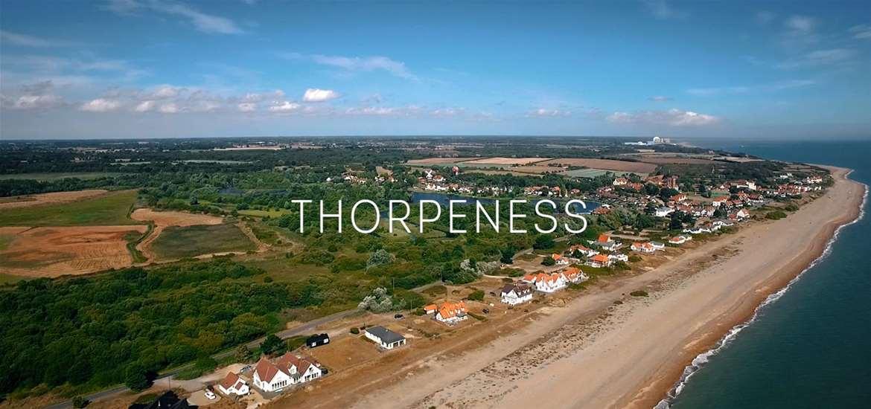 Thorpeness aerial video