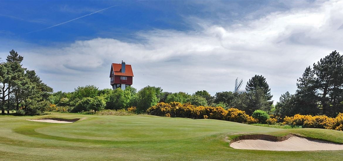 Thorpeness Golf Course House in the Clouds