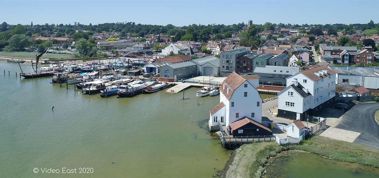 Woodbridge Tide Mill Suffolk credit Video East