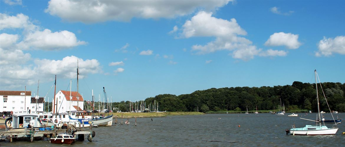 Woodbridge - Towns & Villages - Tide Mill and Deben
