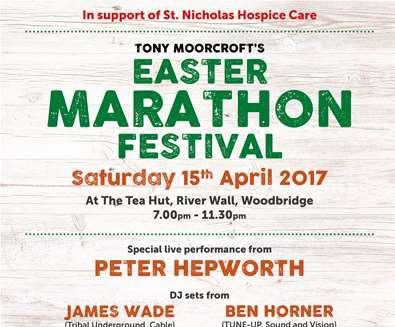 Tony Moorcroft Easter Marathon Festival