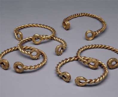 The Ipswich Torcs - (c) The Trustees of the British Museum