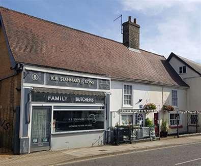 Towns & villages - Saxmundham - Butchers