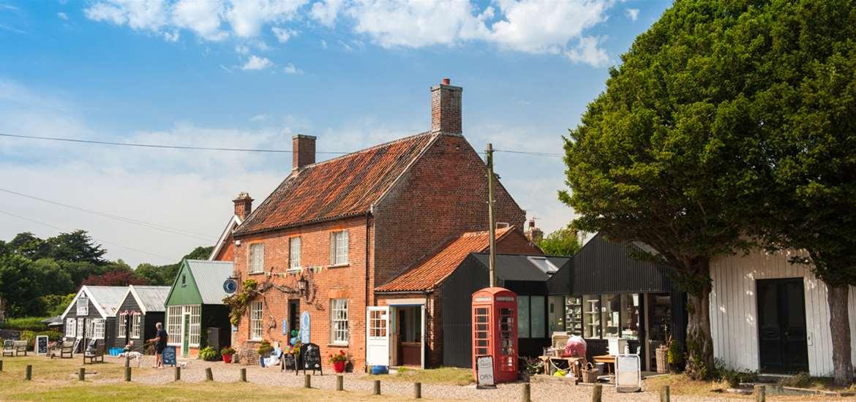 Walberswick Village - The Suffolk Coast
